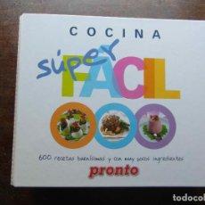 Coleccionismo de Revista Pronto: COCINA SUPER FACIL. 600 RECETAS BUENISIMAS Y CON POCOS INGREDIENTES. REVISTA PRONTO. Lote 113333239