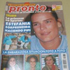 Coleccionismo de Revista Pronto: PRONTO 11/92 ISABEL PANTOJA ESTEFANIA DE MONACO CELIA GAMEZ FRANCISCO MARADONA Mª JOSE CANTUDO . Lote 115757931