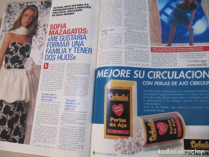 Coleccionismo de Revista Pronto: PRONTO 1992 ANA OBREGON LUKE PERRY SENSACION DE VIVIR ROCIO JURADO ORTEGA CANO SOFIA MAZAGATOS - Foto 2 - 115766219