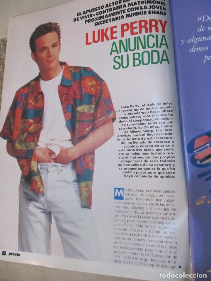Coleccionismo de Revista Pronto: PRONTO 1992 ANA OBREGON LUKE PERRY SENSACION DE VIVIR ROCIO JURADO ORTEGA CANO SOFIA MAZAGATOS - Foto 3 - 115766219