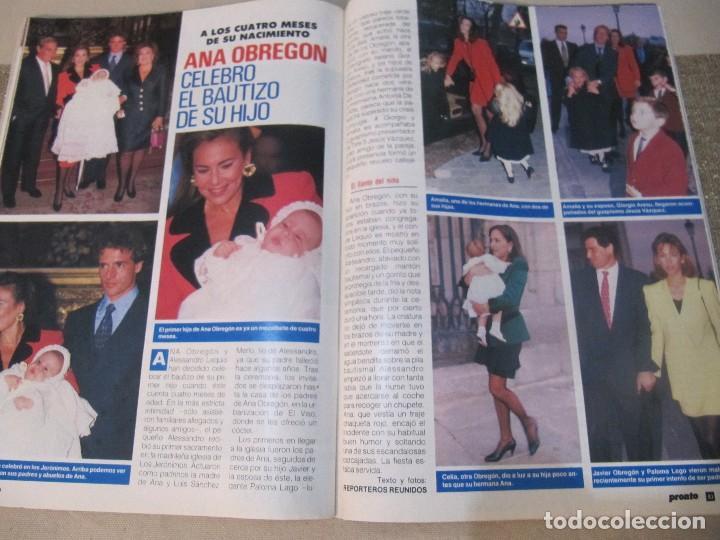 Coleccionismo de Revista Pronto: PRONTO 1992 ANA OBREGON LUKE PERRY SENSACION DE VIVIR ROCIO JURADO ORTEGA CANO SOFIA MAZAGATOS - Foto 5 - 115766219
