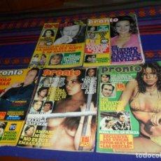 Coleccionismo de Revista Pronto: PRONTO NºS 216, 219, 292, 307 Y 312 CON PÓSTERS. AÑO 1976. RARAS.. Lote 117533535