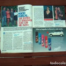 Coleccionismo de Revista Pronto: PRONTO / LUCIANO PAVAROTTI, ROCIO DURCAL, INES SASTRE, VICKY LARRAZ, JOSE CARRERAS, JURADO. Lote 118644999