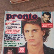 Coleccionismo de Revista Pronto: REVISTA PRONTO 430 * 4-8-80 * PEDRO MARÍN + MARISOL + RAFAELLA CARRA + MARI CRUZ SORIANO * 11. Lote 118716679