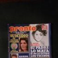 Coleccionismo de Revista Pronto: PERET-KARINA-SARA MONTIEL-FALLAS-EVA LEON-MICHAEL LANDON . Lote 118836251