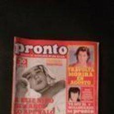 Coleccionismo de Revista Pronto: JOHN TRAVOLTA-PETER STRAUSS-PERALES-DAVID SOUL-PEDRO MARIN-LOLA FLORES-URSULA ANDRESS-MARI TRINI . Lote 118836475