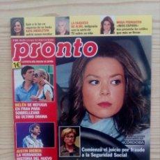 Coleccionismo de Revista Pronto: REVISTA PRONTO - NUMERO 2032. Lote 121294999