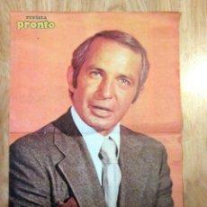 Coleccionismo de Revista Pronto: POSTER REVISTA PRONTO BEN GAZZARA. Lote 121558439