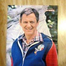 Coleccionismo de Revista Pronto: POSTER REVISTA PRONTO TONY RANDALL. Lote 121558723