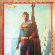 Coleccionismo de Revista Pronto: POSTER REVISTA PRONTO SUPERMAN. Lote 121558835