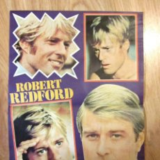 Coleccionismo de Revista Pronto: POSTER REVISTA PRONTO ROBERT REDFORD. Lote 121559275