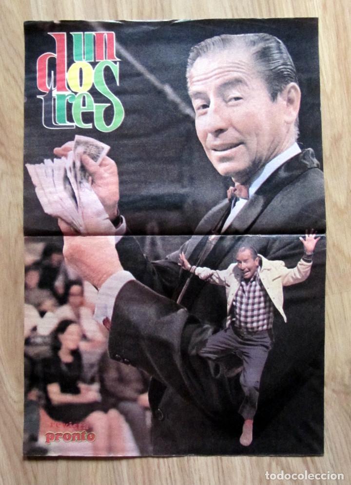 POSTER REVISTA PRONTO KIKO LEDGARD UN DOS TRES (Papel - Revistas y Periódicos Modernos (a partir de 1.940) - Revista Pronto)