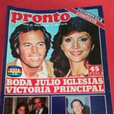 Coleccionismo de Revista Pronto: REVISTA PRONTO 500 7-12-81. Lote 122280108