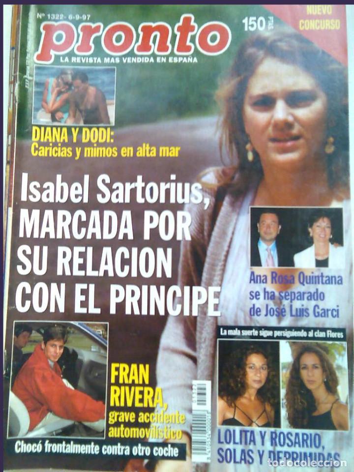PRONTO 27 REVISTAS AÑOS 90 DESDE 1273 HASTA 1382 (Papel - Revistas y Periódicos Modernos (a partir de 1.940) - Revista Pronto)