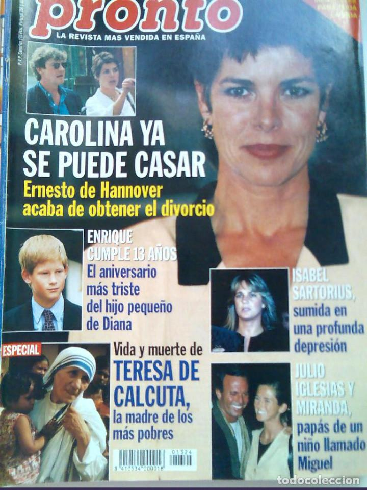 PRONTO 26 REVISTAS AÑOS 90 DESDE 1273 HASTA 1382 (Papel - Revistas y Periódicos Modernos (a partir de 1.940) - Revista Pronto)