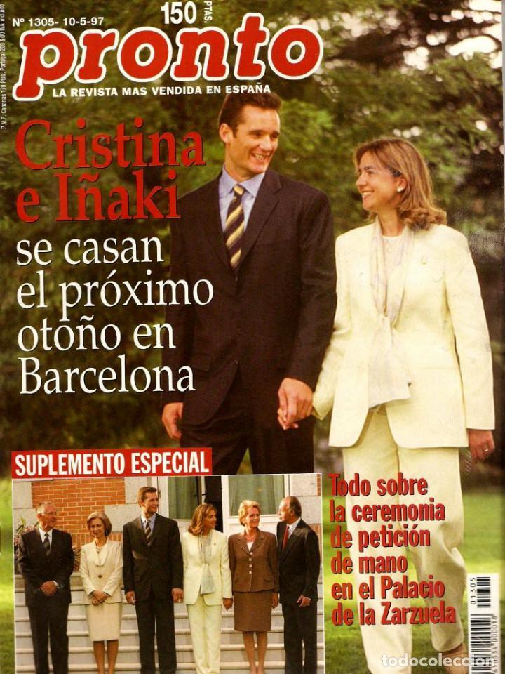 Coleccionismo de Revista Pronto: Pronto 26 revistas años 90 desde 1273 hasta 1382 - Foto 3 - 123096931