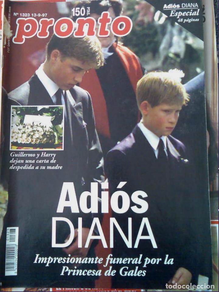 Coleccionismo de Revista Pronto: Pronto 27 revistas años 90 desde 1273 hasta 1382 - Foto 5 - 123096931