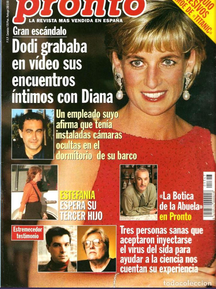 Coleccionismo de Revista Pronto: Pronto 26 revistas años 90 desde 1273 hasta 1382 - Foto 5 - 123096931