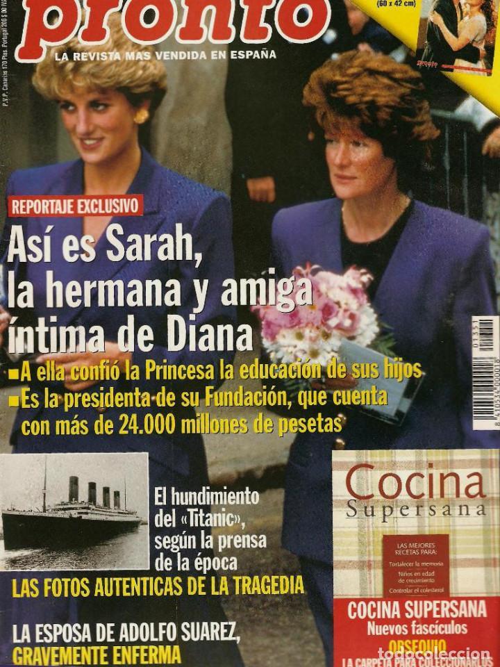 Coleccionismo de Revista Pronto: Pronto 27 revistas años 90 desde 1273 hasta 1382 - Foto 8 - 123096931