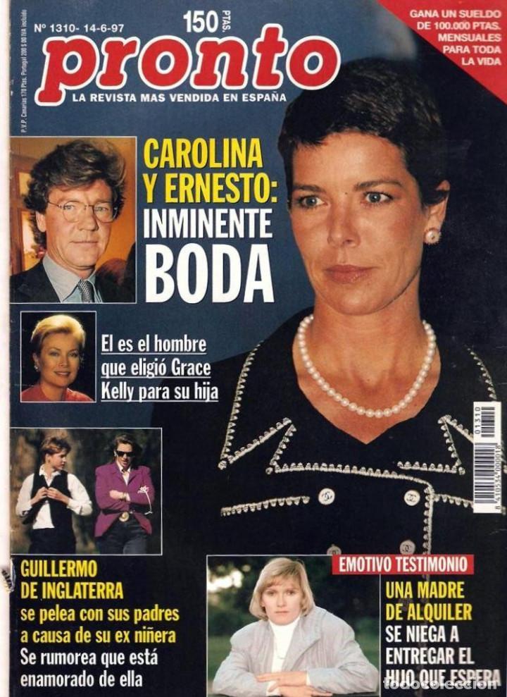 Coleccionismo de Revista Pronto: Pronto 27 revistas años 90 desde 1273 hasta 1382 - Foto 13 - 123096931