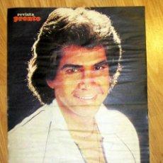 Coleccionismo de Revista Pronto: POSTER REVISTA PRONTO JOSE LUIS RODRIGUEZ EL PUMA. Lote 123390291
