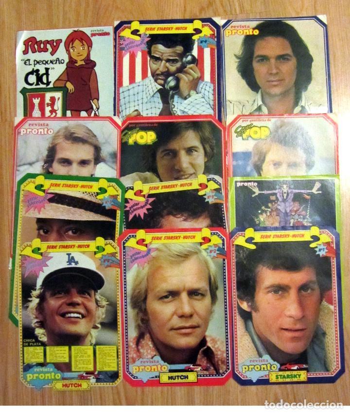 Coleccionismo de Revista Pronto: 28 MINI POSTER REVISTA PRONTO NUEVO VALE SUPER POP CAMILO SESTO STARSKY HUTCH SERRAT - Foto 2 - 124791395