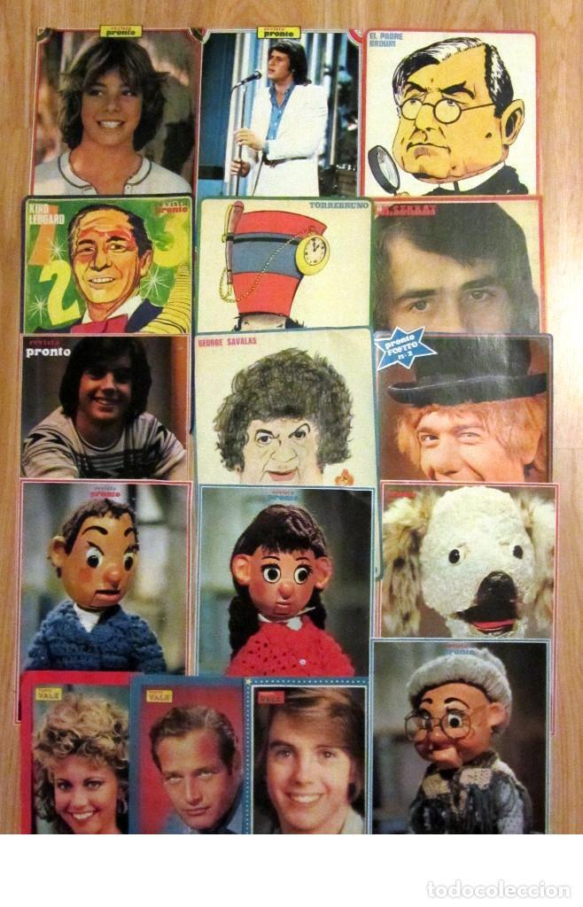 Coleccionismo de Revista Pronto: 28 MINI POSTER REVISTA PRONTO NUEVO VALE SUPER POP CAMILO SESTO STARSKY HUTCH SERRAT - Foto 3 - 124791395