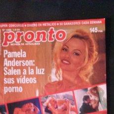 Coleccionismo de Revista Pronto: PAMELA ANDERSON-ISABEL PANTOJA PREYSLER-MISS UNIVERSO ESPAÑA-EUROVISION-ROSARIO MAR FLORES-FAMA. Lote 125143759