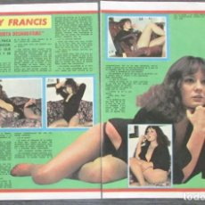 Coleccionismo de Revista Pronto: RECORTE PRONTO 205 1976 MARY FRANCIS. Lote 125259403