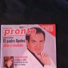 Coleccionismo de Revista Pronto: REVISTA PRONTO 1997 ROCÍO DÚRCAL Nº 1.304. Lote 129024119