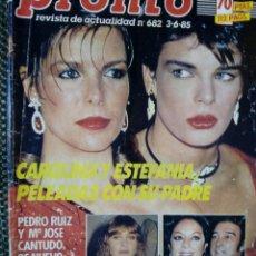 Coleccionismo de Revista Pronto: REVISTA PRONT0 Nº 682 - JUNIO DE 1985. Lote 129373211