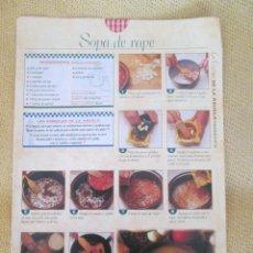 Coleccionismo de Revista Pronto: LA COCINA DE LA ABUELA. REVISTA PRONTO . FASCICULO 52. Lote 130615670