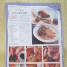 Coleccionismo de Revista Pronto: LA COCINA DE LAS ESTACIONES . FASCICULO 7. Lote 130616978