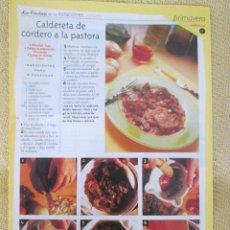 Coleccionismo de Revista Pronto: LA COCINA DE LAS ESTACIONES . PRIMAVERA FASCICULO 9. Lote 130618106