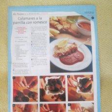 Coleccionismo de Revista Pronto: LA COCINA DE LAS ESTACIONES . VERANO FASCICULO 8. Lote 130620862