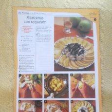 Coleccionismo de Revista Pronto: LA COCINA DE LAS ESTACIONES . OTOÑO FASCICULO 11. Lote 130692589
