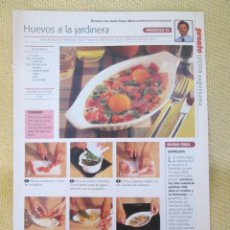 Coleccionismo de Revista Pronto: COCINA SUPERSANA FASCICULO 33. Lote 130865972