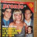 Coleccionismo de Revista Pronto: REVISTA PRONTO ISABEL PANTOJA IVONNE REYES RICKY MARTIN MICHAEL JACKSON URDANGARIN .... Lote 131782062