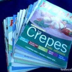 Coleccionismo de Revista Pronto: PRONTO COCINA LOTE 50 FASCÍCULOS REVISTA PRONTO. Lote 132648698