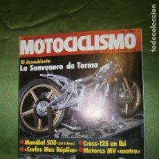 Coleccionismo de Revista Pronto: (F.1)REVISTA MOTOCICLISTA Nº 745 AÑO 1982(BUEN DEBUT DEL ALICANTINO LUIS LÓPEZ-EN SENIOR-JUNIOR,. Lote 135413646