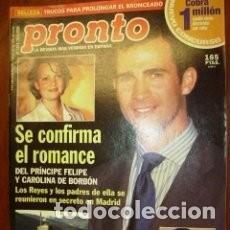 Coleccionismo de Revista Pronto: PRONTO - 2000 Nº 1477 - ROCIO JURADO - ISABEL PANTOJA - ANA OBREGON - ANTONIO BANDERAS / 39. Lote 135456146