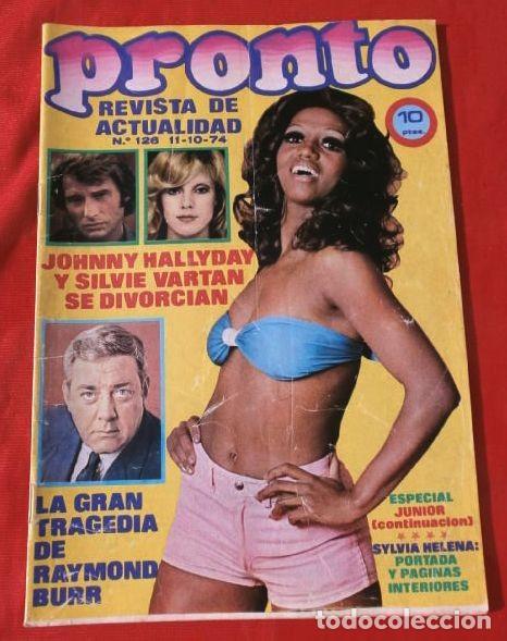 PRONTO Nº 126 (1974) SANCHO GRACIA - BRIGITTE BARDOT - PETER SELLERS - MUSEO DALI - ESPECIAL JUNIOR (Papel - Revistas y Periódicos Modernos (a partir de 1.940) - Revista Pronto)