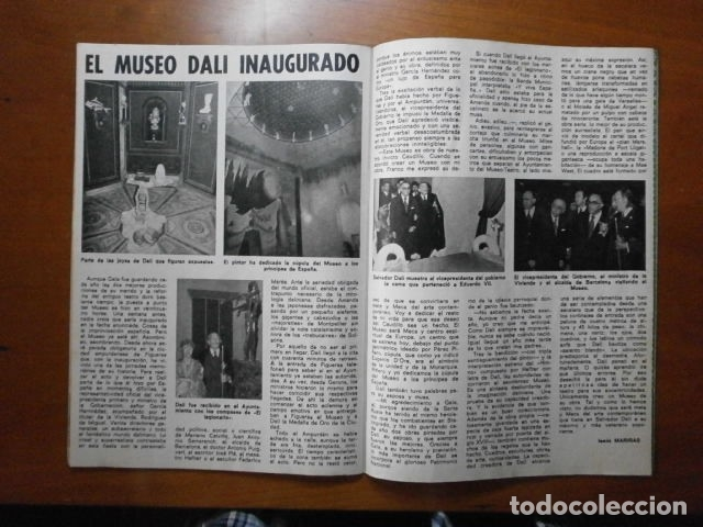 Coleccionismo de Revista Pronto: PRONTO Nº 126 (1974) SANCHO GRACIA - BRIGITTE BARDOT - PETER SELLERS - MUSEO DALI - Especial JUNIOR - Foto 2 - 137362830
