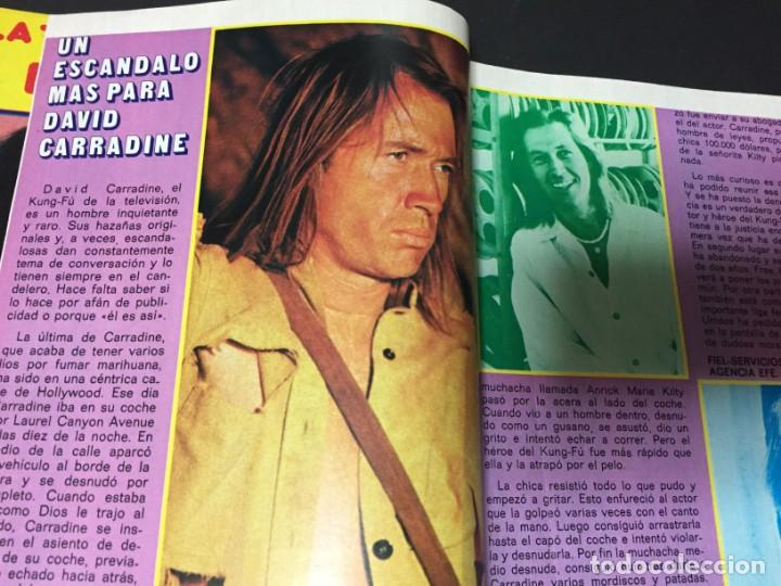 Coleccionismo de Revista Pronto: REVISTA PRONTO 1974 LOS BEATLES ANA BELEN DAVID CARRADINE PERET LOLA FLORES VICTORIA HERNAN ALAIN DE - Foto 5 - 140206638