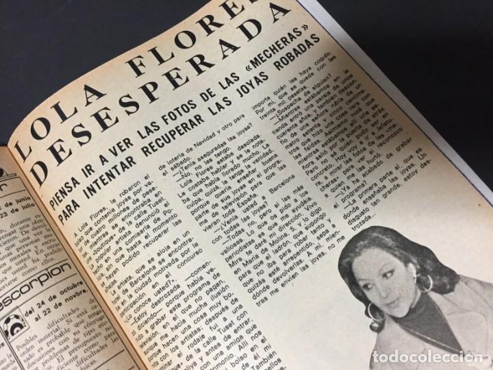Coleccionismo de Revista Pronto: REVISTA PRONTO 1974 LOS BEATLES ANA BELEN DAVID CARRADINE PERET LOLA FLORES VICTORIA HERNAN ALAIN DE - Foto 7 - 140206638