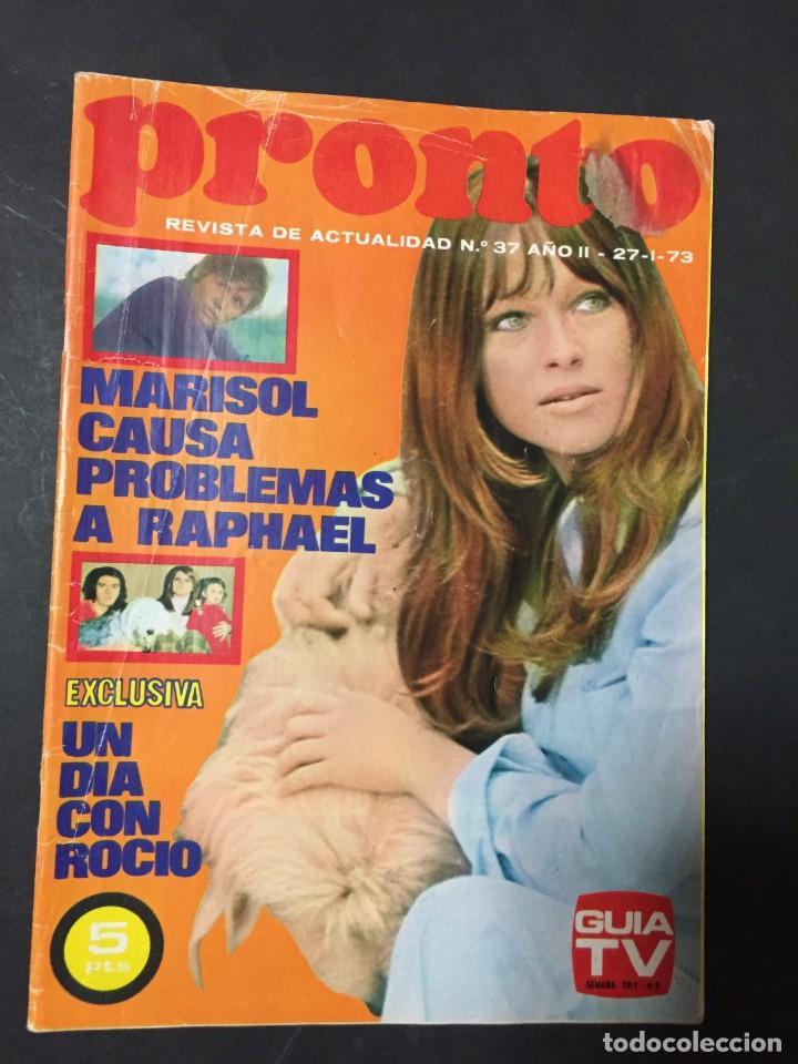 PRONTO 1973 ROCIO DURCAL MARISOL BANGLADESH KIKO LEDGARD UN DOS TRES CORIN TELLADO (Papel - Revistas y Periódicos Modernos (a partir de 1.940) - Revista Pronto)