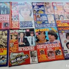 Coleccionismo de Revista Pronto: PRONTO 1978-79-80-81. Lote 140851770