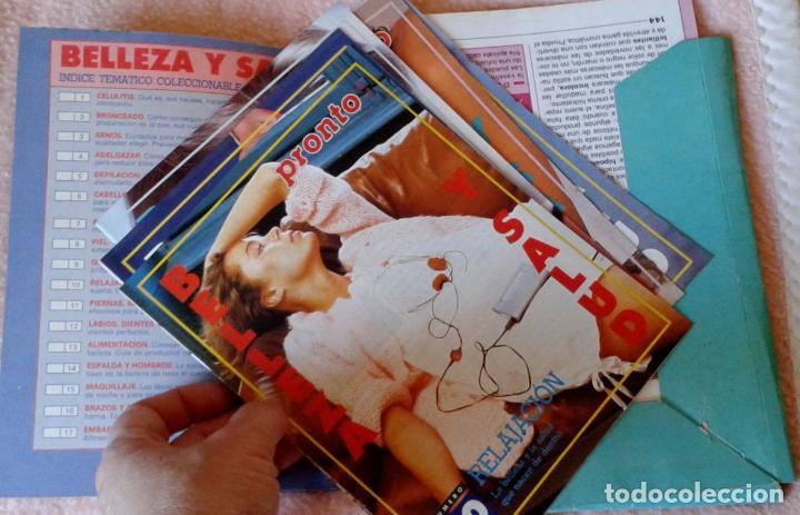 Coleccionismo de Revista Pronto: CARPETA CON FICHAS DE SALUD Y BELLEZA. REVISTA PRONTO. AÑOS 80 - Foto 2 - 142267890