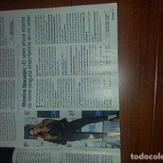 Coleccionismo de Revista Pronto: MONICA NARANJO - ENTREVISTA 2018. Lote 142600030