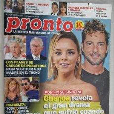 Coleccionismo de Revista Pronto: PRONTO 07-10-2017 Nº 2370 . Lote 142612782